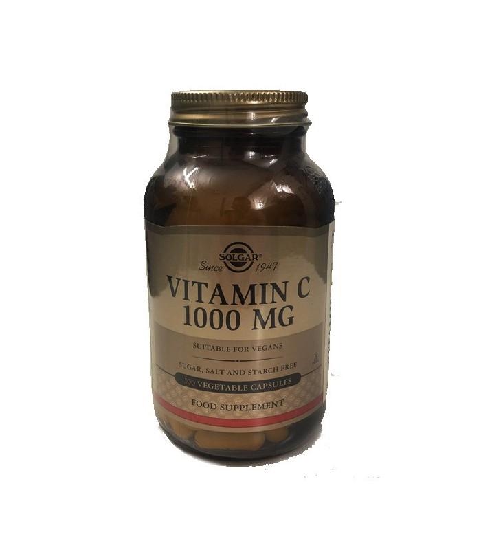 Solgar Vitamina C 1000 Mg 100 Cápsulas