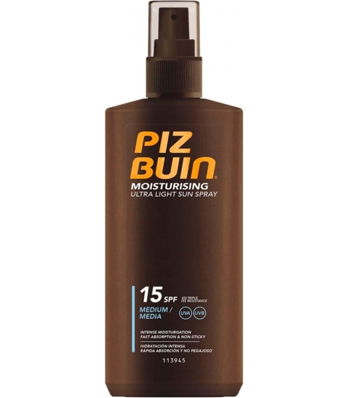 Piz Buin Ultra Light Fps 15 Spray 200 Ml