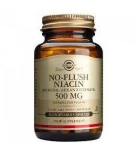 Niacina No Ruborizante 500 Mg 50 Capsulas