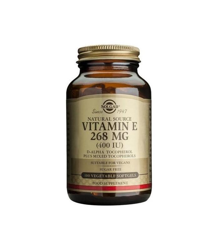 Solgar Vitamina E 400 UI 50 Capsulas