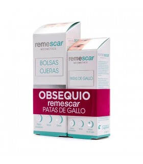 Remescar Bolsas y Ojeras 16 ML + Remescar Patas De Gallo 8 ML GRATIS