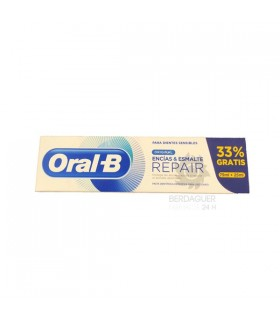Oral-B Pasta Encias & Esmalte Repair Original 75 Ml + 25 Ml