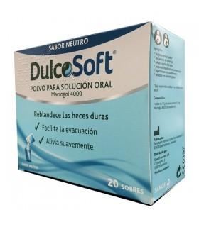 Dulcosoft Polvo Para Solucion Oral 20 Sobres Sabor Neutro