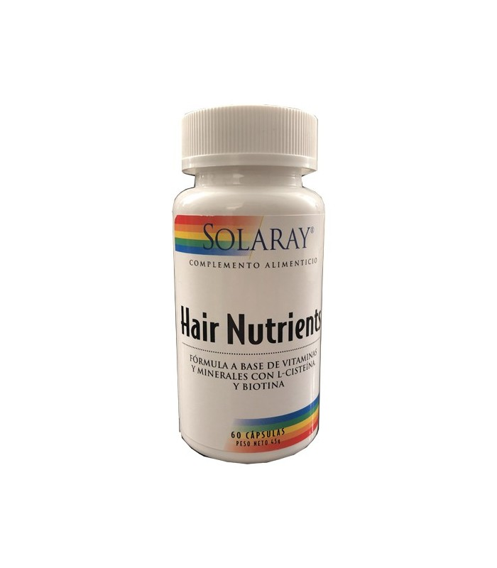 Solaray Hair Nutrients 60 Cápsulas