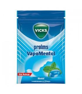 Vicks Caramelos Praims Vapomentol Sin Azucar 72 G