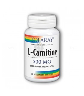 Solaray L-Carnitine 500 Mg. 30 Cap