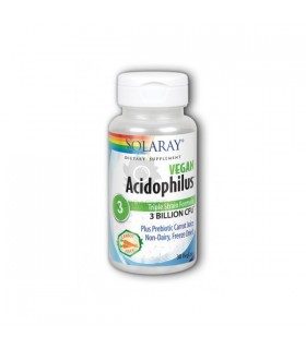 Solaray Acidophilus Plus 30 Capsulas