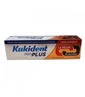 Kukident Pro Doble Accion Crema Adhesiva Fijación Extra