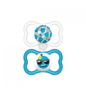 Mam Chupete Silicona Air 16 M Pack Doble