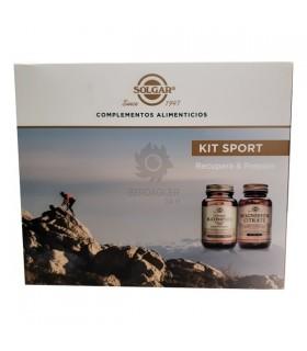 Pack Deporte Solgar Vitamina B-Complex 50 Caps + Citrato De Magnesio 60 Comp