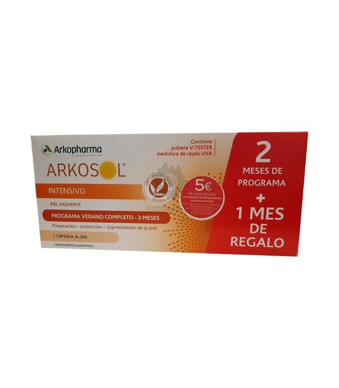 ArkoSol Intensivo Piel Radiante Perlas Pack 2 meses + 1 de regalo