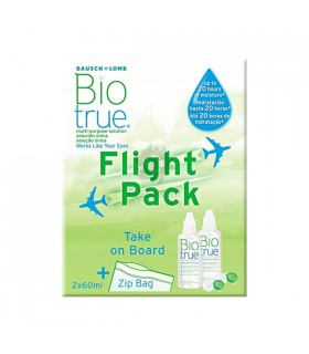 Biotrue Solucion Unica Flight Pack 60 Ml 2 U