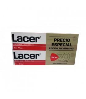 Lacer Pasta Duplo Con Fluor 125 Ml+125 Ml