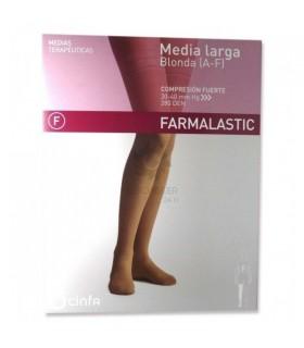 Farmalastic Media Larga Compresión Fuerte Talla Mediana