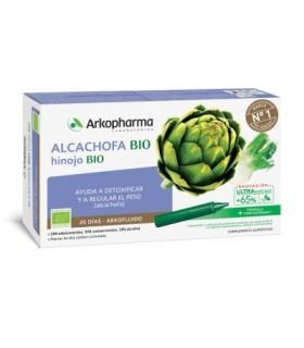 Arkopharma Alcachofa e Hinojo 10 Ampollas