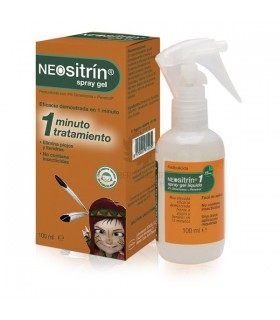 Neositrin 100 % Spray Antipiojos Gel Liquido 100Ml