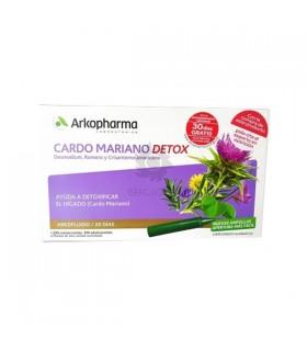 Arkopharma Cardo Mariano Detox 20 Ampollas 15 ML