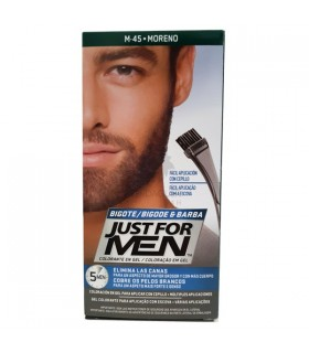 Just For Men Bigote Barba Moreno