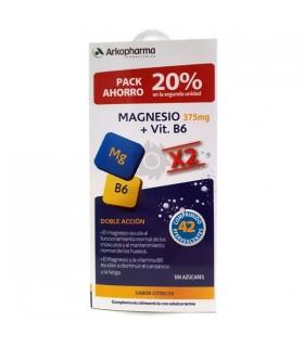 Arkovital Magnesio y Vit B6 21 Comp + 2º Und 20% Dto