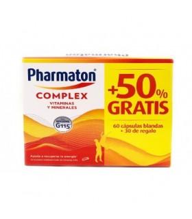Pharmaton Complex pack 60 cápsulas + 30 Cápsulas de regalo