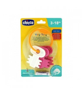 Chicco Llaves Coloreadas Rosa Y Azul 3M+