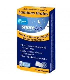 Snoreeze Laminas Orales Anti Ronquidos 14 Unidades