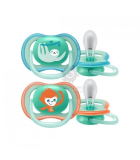 Avent Chupete Ultra Air Pieles Sensibles 2 Uds 18M+