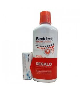 Pack Bexident Encias Coluntorio 500Ml +Pasta Dent Encias 8Ml
