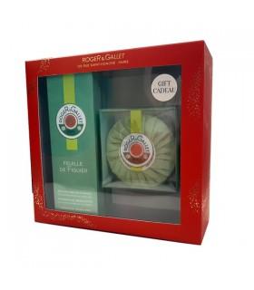 Roger & Gallet Cofre Navidad Feuille De Figuier Agua De Perfume 100 Ml + Regalo Jabon Perfumado