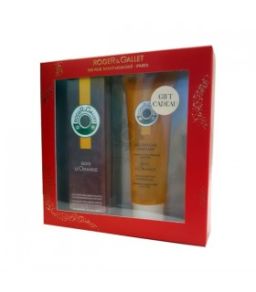 Roger & Gallet Cofre Navidad Bois D´Orange Agua De Perfume 30 Ml + Regalo Gel De Ducha 50 Ml