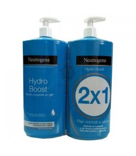 Neutrogena Hydro Boost Duplo Locion Corporal En Gel 750 Ml + 750 Ml 2X1 Pieles Normales A Secas