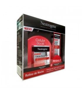 Neutrogena Rutina De Noche Cellular Boost Crema Regeneradora 50Ml + Regalo Contorno De Ojos 15Ml