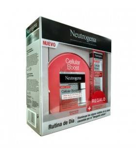 Neutrogena Rutina De Día Crema  Anti-Edad Spf20 50 Ml + Regalo Contorno De Ojos 15 Ml