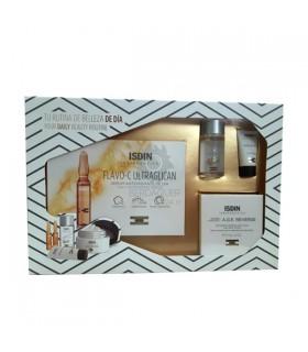 Pack Isdinceutics Flavo-C Ultraglican 10 Amp+A.G.E. Reverse 51.5G+K-Ox Eyes 3G+S.Micelar 4En1 30Ml
