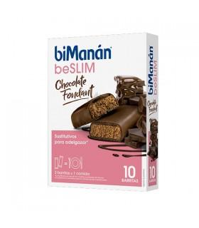 Bimanan Beslim 10 Barritas Chocolate Fondant 10 X 31G