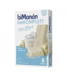 Bimanan Bekomplett Snack Barrita Yogur 8 Barritas 8 X 38G