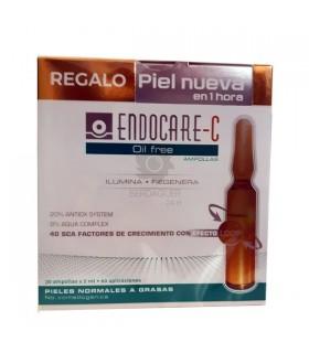 Endocare C Oil Free 30 Ampollas 2 ML + Regalo Protocolo de piel nueva en 1 hora