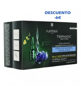 Rene Furterer Triphasic Ritual Anticaída 12 Ampollas X 5 ML