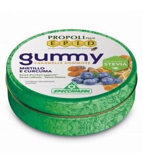 Specchiasol Gummy Caramelos Goma Mirtillo E Curcuma 40 G