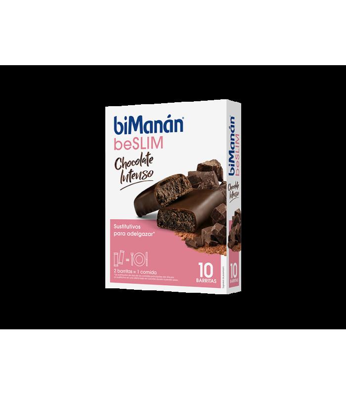 Bimanan BeSLIM Barritas Sabor Chocolate Intenso 10 uds