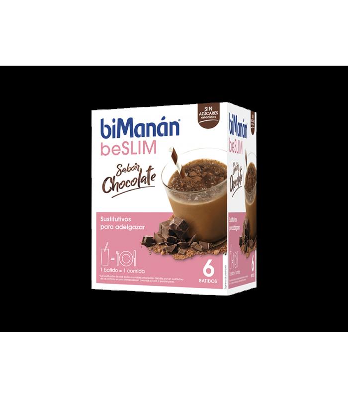 Bimanan BeSLIM Batido Sabor Chocolate 6 Unidades