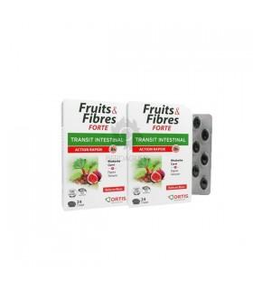 Frutas Y Fibras Forte Transito Intestinal Acción Rápida 24 Comp + 24 Comp 50% 2ª Unidad