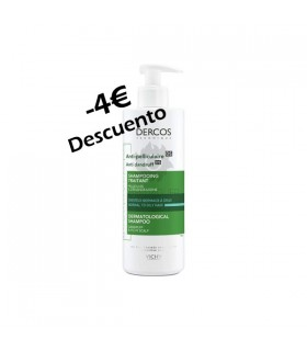 Dercos Champu Anti-Caspa Ds Cabellos Secos 390 Ml