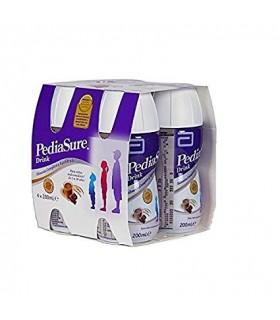 Pediasure Drink 4 Botellas Chocolate 200 Ml