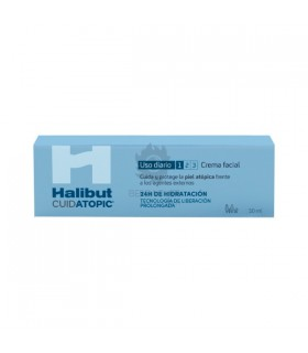 Halibut Cuidatopic Uso Diario Crema Facial 50 Ml
