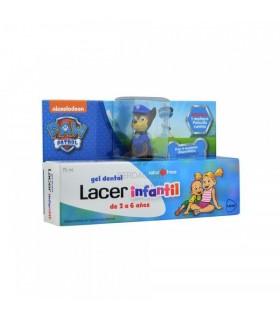 Lacer Junior Gel Dental Sabor Fresa 75 ML + Regalo Muñeco Patrulla Canina