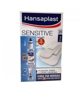 Hansaplast Sensitive 20 Tiras + Regalo Pomada Para Curar Heridas