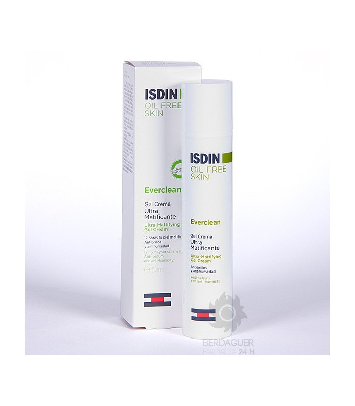 Isdin Everclean Gel Crema Ultra Matificante