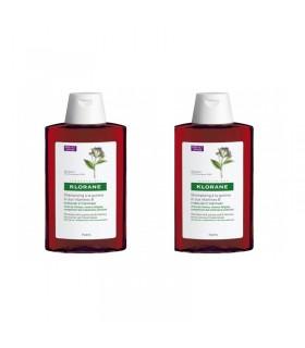 Klorane Champu a la Quinina 400 ml + 400 ml 50% 2º Unidad