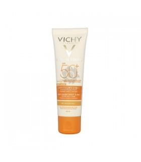 Vichy Capitall Soleil Spf-50+ Cuidado Antimanchas 3 En 1